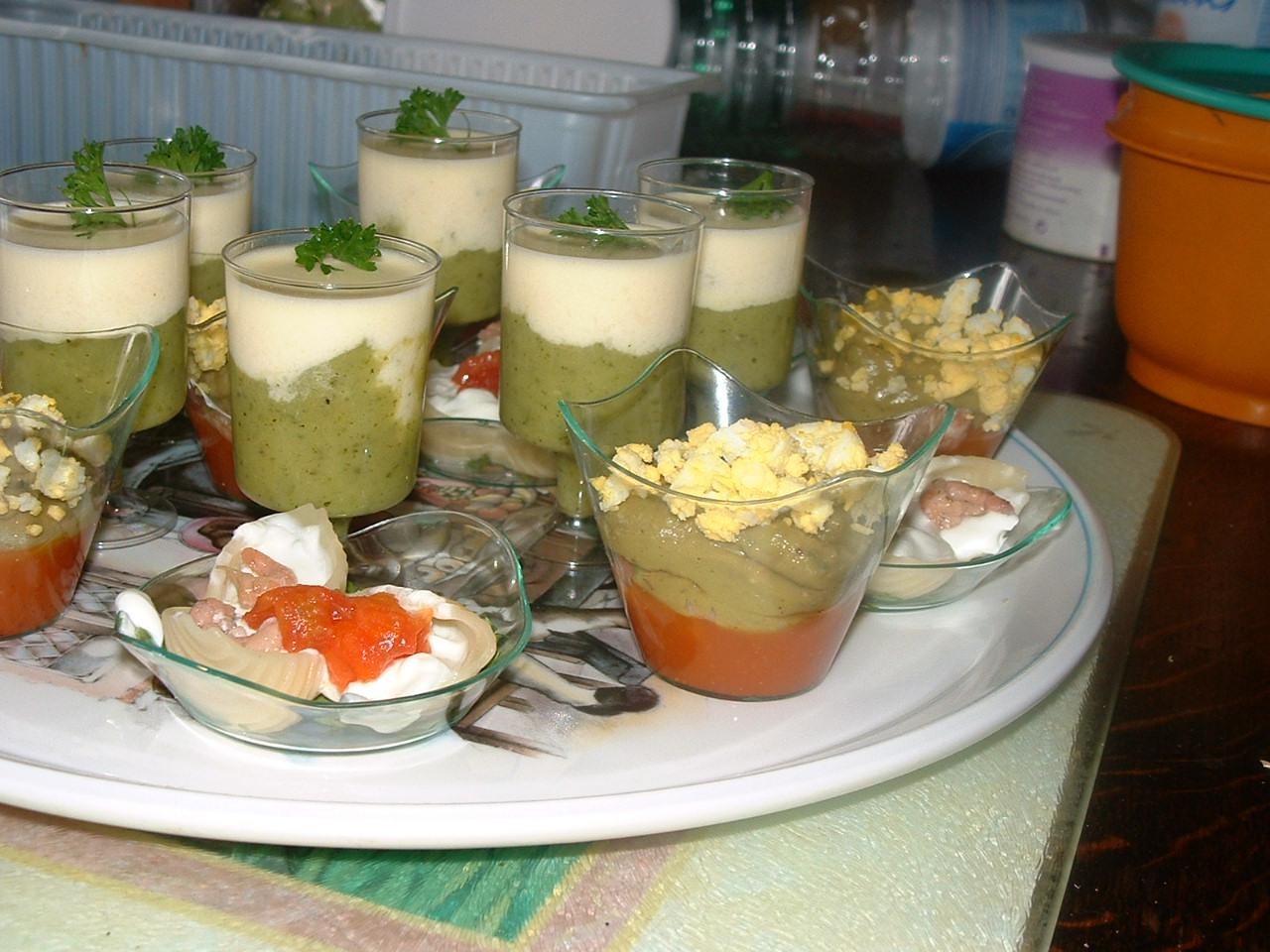Crevettes grises et guacamol
